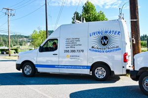 Living Water - Commercial Plumbing Kelowna - Van Image