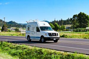 Living Water - Commercial Plumbing Kelowna - Moving Van on the Road