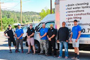 Living Water - Commercial Plumbing Kelowna - Workers Group Photo